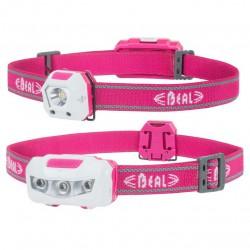 BEAL Be Visi pink fejlámpa