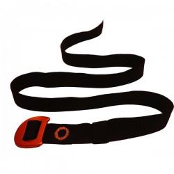 CAMP Webbing Belt black/orange nadrágszíj