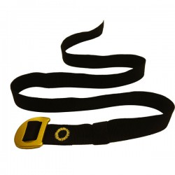 CAMP Webbing Belt black/yellow nadrágszíj