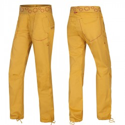OCÚN Pantera Pants golden yellow nadrág