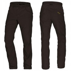 OCÚN Mánia Pants dark brown nadrág