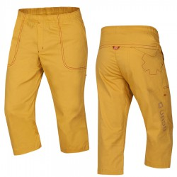 OCÚN Jaws 3/4 Pants golden yellow nadrág
