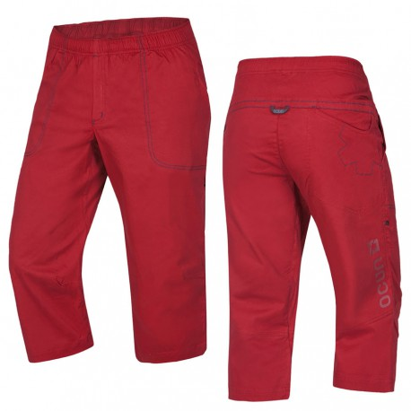 OCÚN Jaws 3/4 Pants garnet red nadrág