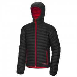 OCÚN Tsunami Down Jacket black/red bunda