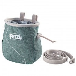 PETZL Saka Chalkbag green magnéziazsák