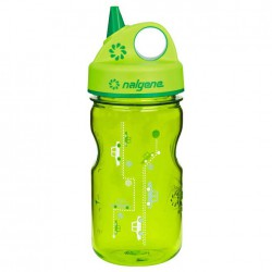 NALGENE Grip´n Gulp 0.35 L - green cars palack