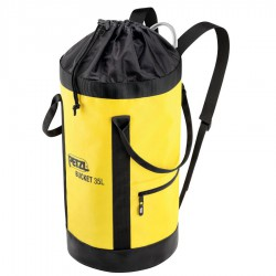 PETZL Bucket 35 black/yellow kötélzsák