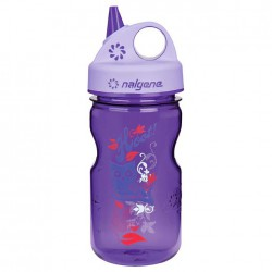 NALGENE Grip´n Gulp 0.35 L - purple hoot palack