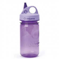 NALGENE Grip n Gulp 0.35 L Kids purple palack