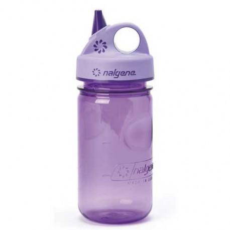 NALGENE Grip n Gulp 0.35 L Kids purple palack