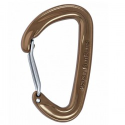 SINGING ROCK Vision Straight brown karabiner