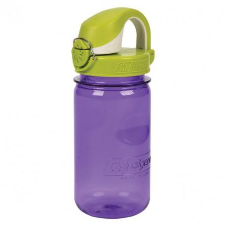 NALGENE OTF Kids 0.35 L purple iquana palack