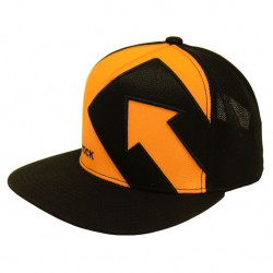 SINGING ROCK Snapback Hat yellow/black sapka