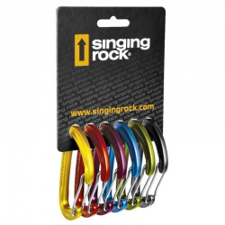 SINGING ROCK Vision 6-Pack karabiner szett