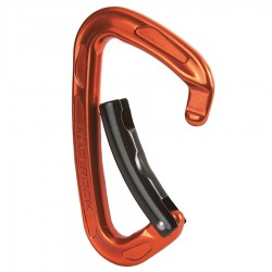 MAD ROCK Super Tech Bent Gate orange karabiner