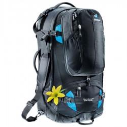 DEUTER Traveller 60+10 SL black/turquoise hátizsák