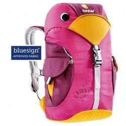 DEUTER Kikki magent/blackberry gyerek hátizsák