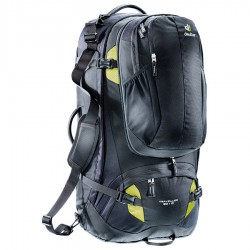 DEUTER Traveller 80 + 10 black/moss hátizsák