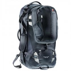 DEUTER Traveller 70 + 10 black/silver hátizsák