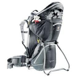 DEUTER Kid Comfort 3 black/granite gyerekhordó hátizsák