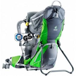 DEUTER Kid Comfort Air graphite/spring gyerekhordó hátizsák