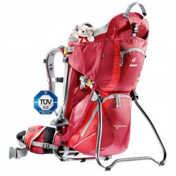 DEUTER Kid Comfort II cranberry/fire gyerekhordó hátizsák