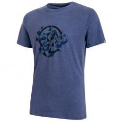 MAMMUT Go Far T-Shirt Men jay melange/marine póló