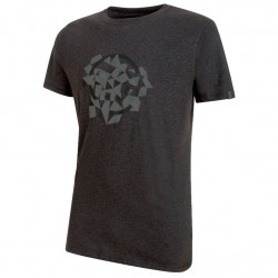 MAMMUT Go Far T-Shirt Men graphite melange/titanium póló