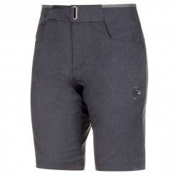 MAMMUT Massone Shorts Men black melange rövidnadrág