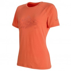 MAMMUT Mountain T-Shirt Women barberry póló