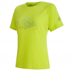 MAMMUT Mountain T-Shirt Women sprout póló