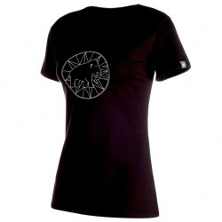 MAMMUT Logo T-Shirt Women black póló