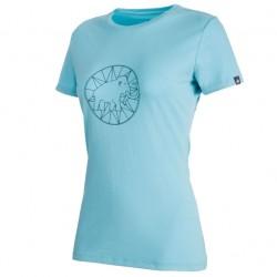 MAMMUT Logo T-Shirt Women whisper/jay póló