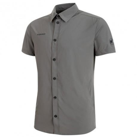 322319503905 MAMMUT Trovat Light Shirt Men titanium póló - ExtremOutdoor.hu