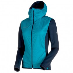 MAMMUT Aenergy IN Hybrid Jacket Women aqua/marine bunda
