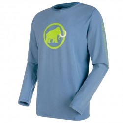 MAMMUT Snow Longsleeve Men cloud póló