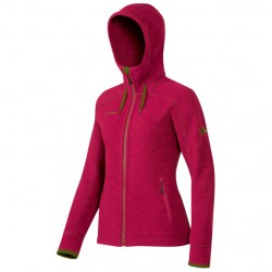 MAMMUT Arctic Hooded ML Jacket Women crimson bunda