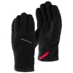 MAMMUT Fleece Glove black kesztyű