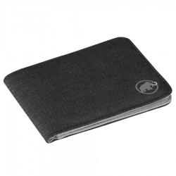 MAMMUT Flap Wallet Mélange black pénztárca