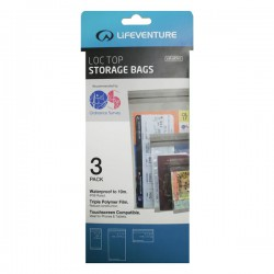LIFEVENTURE Loc-Top Storage Bags 3pack vízálló tokot