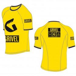 GRIVEL Technical T-Shirt yellow póló