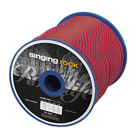 SINGING ROCK Cord 7mm red/grey kötélgyűrű