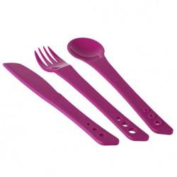 LIFEVENTURE Ellipse Cutlery purple evőeszköz szett