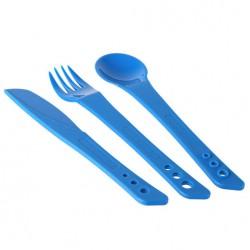 LIFEVENTURE Ellipse Cutlery blue evőeszköz szett