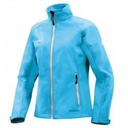 VAUDE Cyclone II W blue softshell dzseki