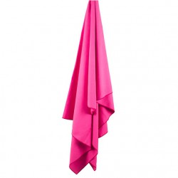 LIFEVENTURE SoftFibre Trek Towel Advance Pocket pink törölköző