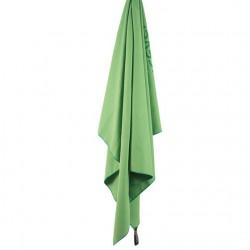 LIFEVENTURE SoftFibre Trek Towel Advance Pocket green törölköző