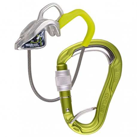 EDELRID Mega Jul Belay Kit Bulletproof Screw oasis szett