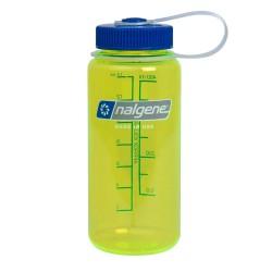 NALGENE Wide Mouth 0.5L safety yellow palack