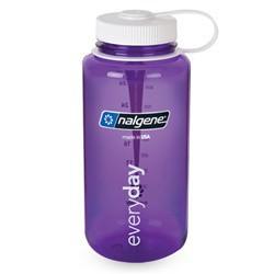NALGENE Wide Mouth 1.0 L purple palack